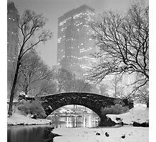 Gapstow Bridge, Study 2 Photographic Print