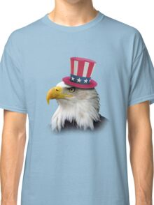 Patriotic Eagle Classic T-Shirt