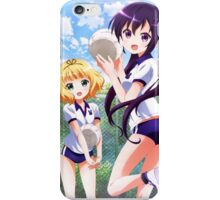 Syaro and Rize from GochiUsa iPhone Case/Skin