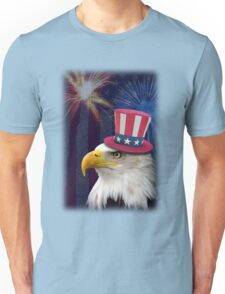 Patriotic Eagle Unisex T-Shirt