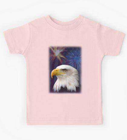 Patriotic Eagle Kids Tee