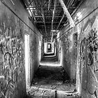 Hall in the Asylum by njordphoto
