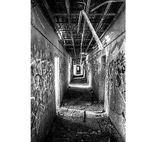 Hall in the Asylum Photographic Print