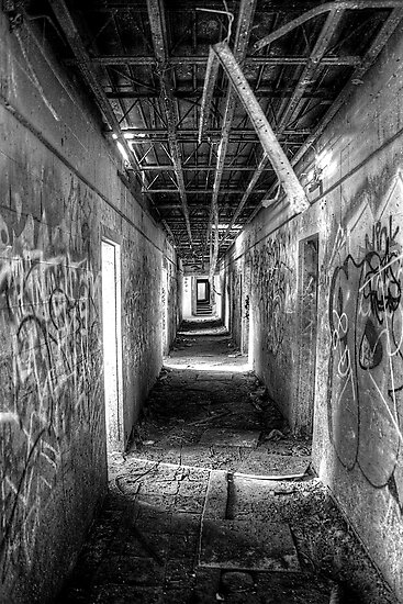 Hall in the Asylum by Bill Wetmore