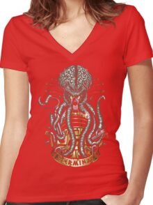 Dalek Pride Women's Fitted V-Neck T-Shirt