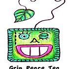 """Grin Peace Tea"" by janinej9"