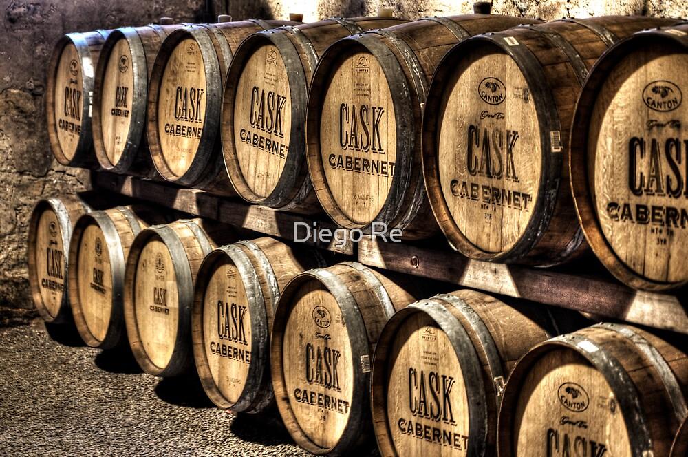 Cabernet Barrels by Diego Re