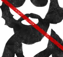 Anti-Hipster Boy Sticker