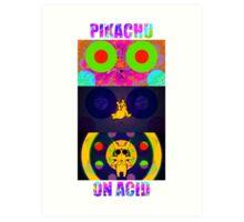 Pikachu On Acid Art Print