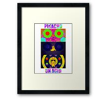 Pikachu On Acid Framed Print