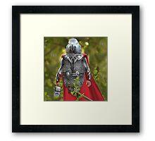 Grey parrot Thor Framed Print