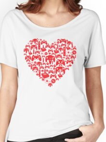 Gaming Love Women's Relaxed Fit T-Shirt