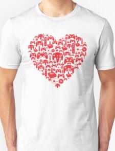 Gaming Love Unisex T-Shirt