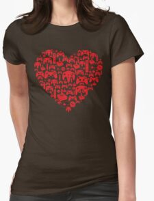 Gaming Love Womens Fitted T-Shirt
