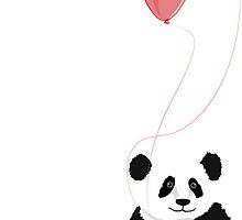 Love panda by OkoLaa