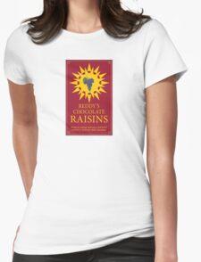 Reddy's Chocolate Raisins - Utopia Womens Fitted T-Shirt