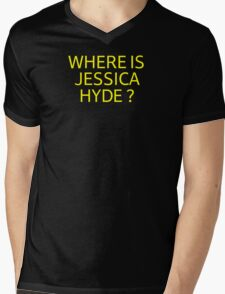 Where is Jessica Hyde ? Mens V-Neck T-Shirt