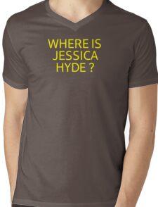 Where is Jessica Hyde ? Mens V-Neck T-Shirt