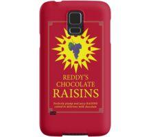 Reddy's Chocolate Raisins - Utopia Samsung Galaxy Case/Skin