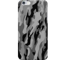 Gray Mimetic (Artic) iPhone Case/Skin