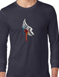 One Winged Nerd. Long Sleeve T-Shirt