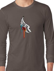 One Winged Nerd. Long Sleeve T-Shirt