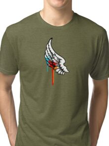 One Winged Nerd. Tri-blend T-Shirt