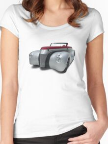 Sexy Curves Women's Fitted Scoop T-Shirt