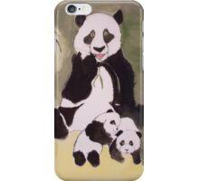 Panda Family Painting iPhone Case/Skin