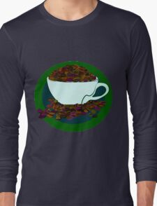 Bean-Addict! Long Sleeve T-Shirt