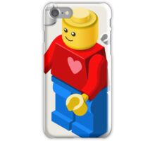 Toy Block Man Games Isometric iPhone Case/Skin