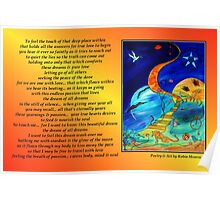 Dream of all Dreams - Poetry in Art Poster