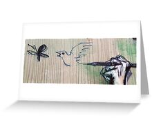 Let your thoughts have wings Greeting Card