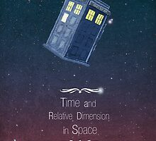 Time and Relative Dimension in Space by Simon Alenius