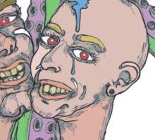 octo couple Sticker