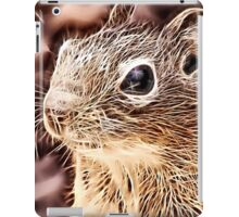 Wild nature - squirrel iPad Case/Skin