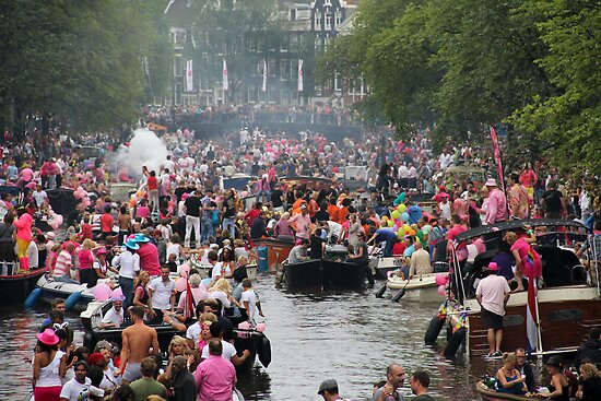 Amsterdam Gay Pride by esmerose