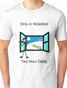 Widefield snow day policy Unisex T-Shirt