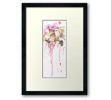 Vespa. Framed Print
