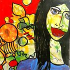 I like My Face by Belinda &quot;BillyLee&quot; NYE (Printmaker)