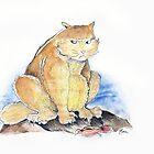 Grumble cat by JasmineJean