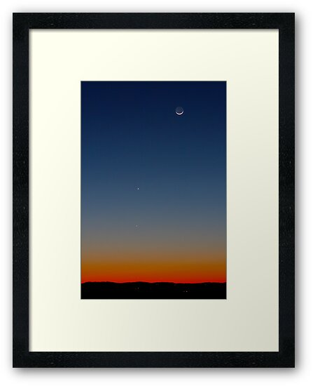 The Moon, Mercury & Mars by Daniel Owens