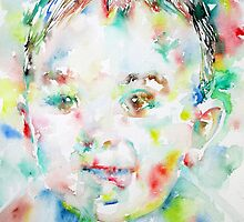 CHILD SHOWING HIS TONGUE by lautir