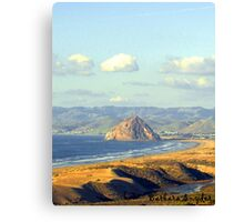 The Rock at Morro Bay Canvas Print
