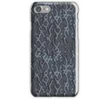 Gray Snake Skin iPhone Case/Skin