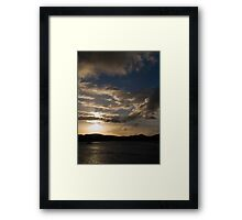 Bright Horizon Framed Print