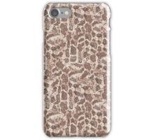 Brown and Tan Snake Skin iPhone Case/Skin