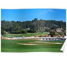 Yacht Club at Pebble Beach Poster