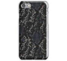 Black and White Snake Skin iPhone Case/Skin