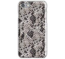 Black and Gray Snake Skin iPhone Case/Skin